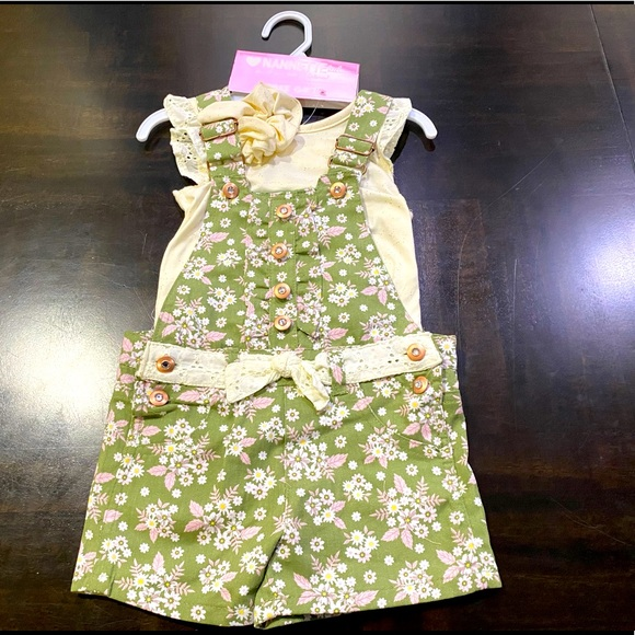 Nannette Toddler 2-Piece Set with Accessory Size3